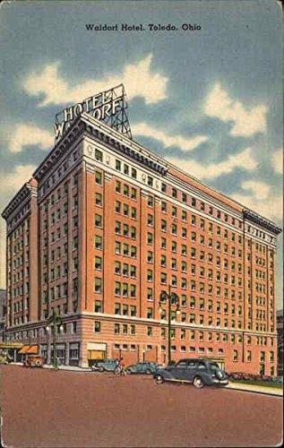 Waldorf Hotel Toledo, Ohio Original Vintage - Waldorf Stores