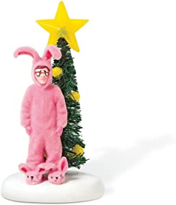 Department 56 Christmas Story Village Pink Nightmare Accessory Figurine