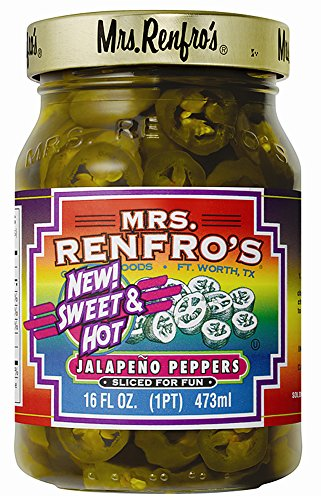 Jalapeno Pepper Relish - Mrs. Renfro's Sweet & Hot Jalapeno Peppers