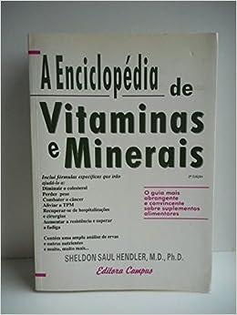 A Enciclopédia De Vitaminas E Miner (Em Portuguese do Brasil): 9788570019127: Amazon.com: Books