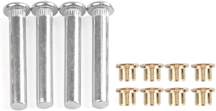 kit de accesorio de reparaci/ón de pin de bisagra de puerta de coche apto para Navarre D22 1997-2005 Pin de bisagra de puerta