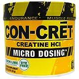 Con-Cret, Creatine HCI, Micro-Dosing, Lemon Lime, .88 oz (25 g) - 3PC
