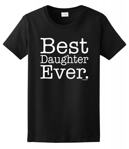 Amazon.com: Best Hija Ever playera para mujer: Clothing