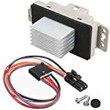 #5: HVAC Fan Blower Motor Resistor Kit With Harness Replaces # 1581773 89018778 15-81773 for Chevy Silverado Tahoe Trailblazer Suburban Avalanche GMC Sierra Envoy Yukon Buick Cadillac Escalade & more