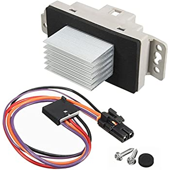 Amazon.com: HVAC Blower Motor Resistor Kit With Plug Harness ... on