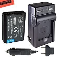 BM Premium LP-E10 Battery and Charger Kit for Canon EOS Rebel T3, T5, T6, Kiss X50, Kiss X70, EOS 1100D, EOS 1200D, EOS 1300D Digital Camera