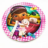 Doc McStuffins Birthday Party Plates - 20 Pieces