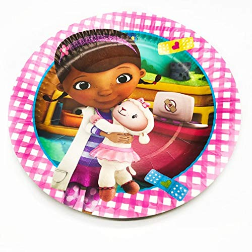 Doctor Mcstuffin Party Supplies (Doc Mcstuffin Birthday Party Plates - 10)