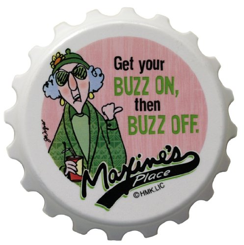 Maxine's Magnetic Bottle Opener