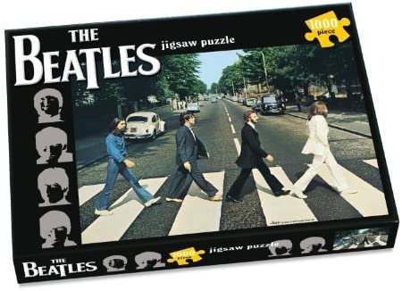 The Beatles ~ ~ Abbey Road 1000 Piece Jigsaw Puzzle ~ ~ Classic ...