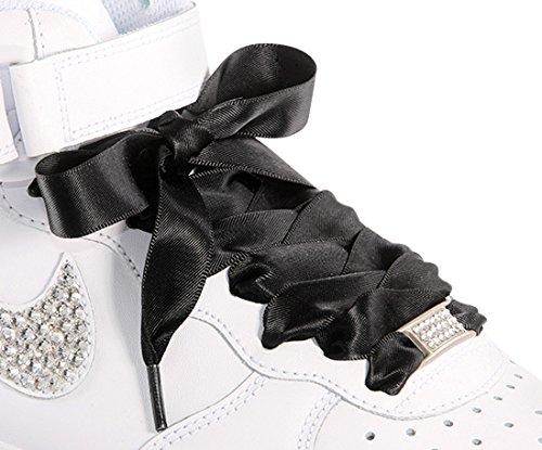 10e99473cce4 Amazon.com  Black Flat Shoelaces