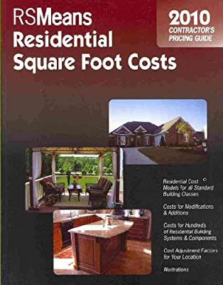 RSMeans Residential Square Foot Costs Contractor's Pricing Guide