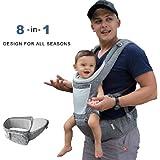 DaDa Airflow 360 Ergonomic Baby Carrier with Hip seat...