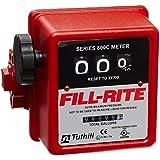 Fill-Rite 807C1 3 Wheel Mechanical Meter, 5 to 20 GPM