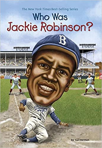 Image result for jackie robinson book for kids