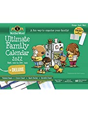 """MotherWord Deluxe Magnetic Hanging Calendar and Chore Chart, 16-Month, Sept 2021 - Dec 2022, English, Large Deluxe Version, 18"""" x 13.5"""" (MWFCT12822)"""
