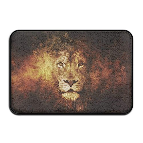 nuohaoshangmao HOMESTORES African Flag Rasta Lion Rastafari Jamaica Reggae Bath Mat - Memory Foam Shower Spa Rug Bathroom Kitchen Floor Carpet Home Decor Non Slip Backing23.6 x 15.7'' inch by nuohaoshangmao