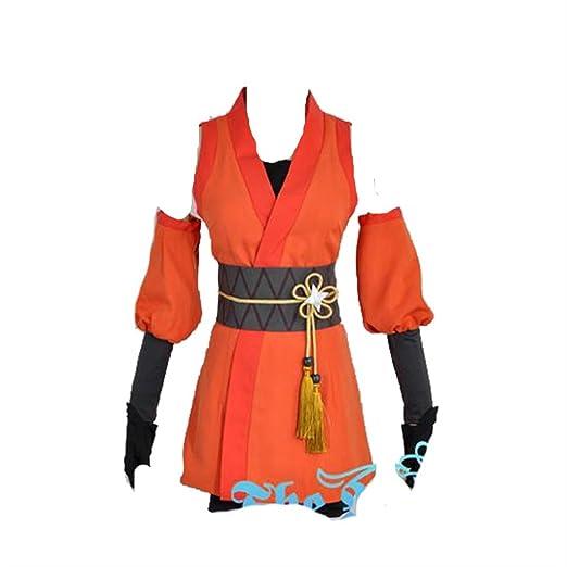 Amazon.com: Love Live Ninja Kousaka Honoka Cosplay Costume ...