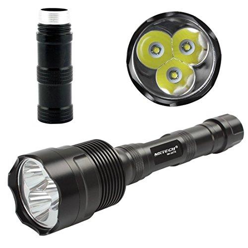 Waterproof 5 mode 3800lm Lumens 3T6 CREE XM-L T6 3 Modes LED Flashlight Torch]()
