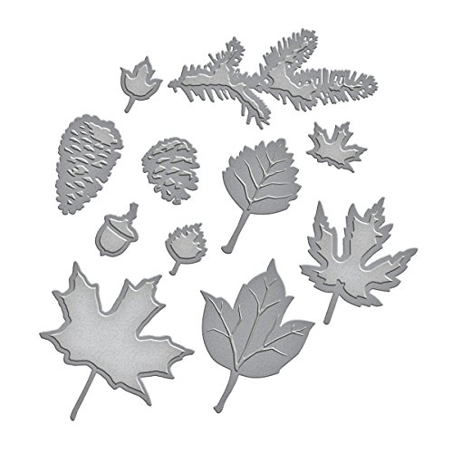Spellbinders S5-120 Shapeabilities Fall Foliage Etched/Wafer Thin Dies by Spellbinders