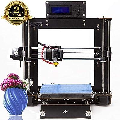 DIY Impresora 3D,ColorFish Prusa i3 MK8 Boquilla de Alta Precisión ...