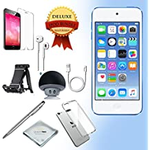 Apple iPod Touch 6th generation 32GB - BLUE with All-in-1 iTouch Accessories Kit Bundle