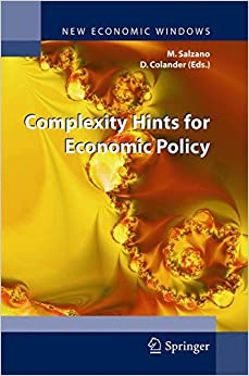 Book Complexity Hints for Economic Policy (New Economic Windows)