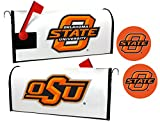 Oklahoma State Cowboys Magnetic Mailbox Cover & Sticker Set