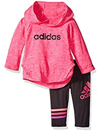 Baby Girls Hooded Top and Legging Clothing Set Outfit
