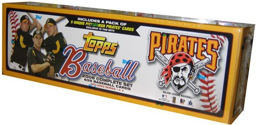 MLB Pittsburgh Pirates 2006 Topps Complete Factory Set T06BBFSPIT 41116269608