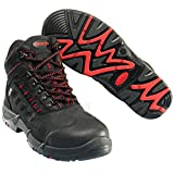 Mascot F0025-901-0902-1142 Kenya Safety Boot, W11/42, Black
