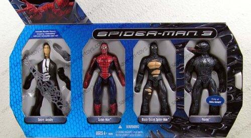 Spider-Man 3: The Movie Symbiote Evolution Action Figure (Spider Man Symbiote Suit)