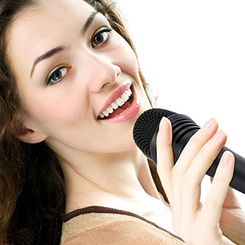 Amazon.com: TONOR Pro Vocal Dynamic Microphone for Karaoke Singing Recording Speech Wedding Indoor Outdoor Activity with XLR Male to Female Wire Cord Cable ...