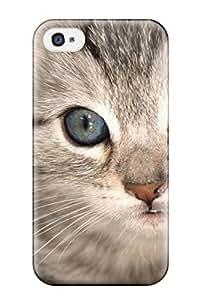 Cleora S. Shelton's Shop 5957133K27605835 Iphone 4/4s Hybrid Tpu Case Cover Silicon Bumper Cat