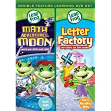 Leapfrog: Math Adventure to the Moon/ Letter Factory - Double Feature [DVD] (2010)