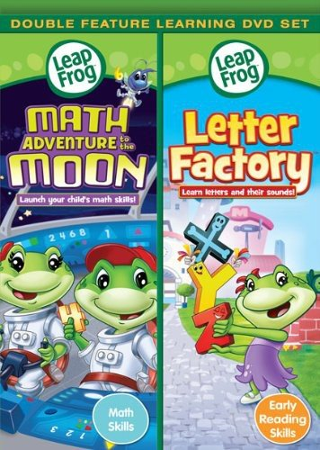 Alphabet Factory Leapfrog - Leapfrog: Math Adventure to the Moon/ Letter Factory - Double Feature [DVD]