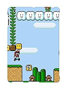 ChHBUKo1933TKTco Faddish Super Mario World Retro Games Case Cover For Ipad 2/3/4 With Design For Christmas Day's Gift