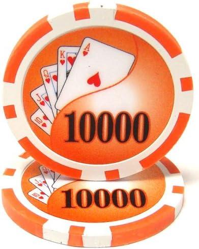 MRC 50 $0.50 YIN YANG Clay Composite 14 Gram Poker Chips