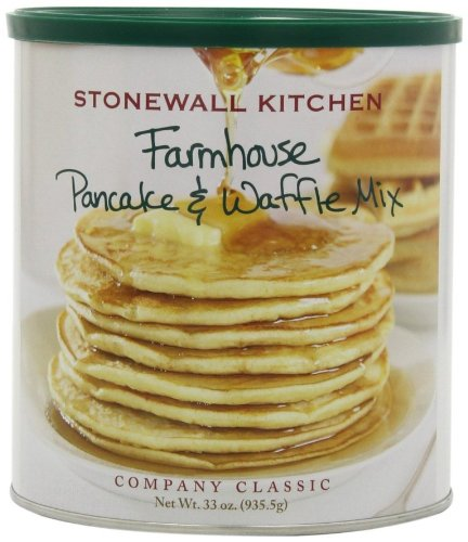Stonewall Kitchen Farmhouse Pancake and Waffle Mix, 33-Ounce Can ()
