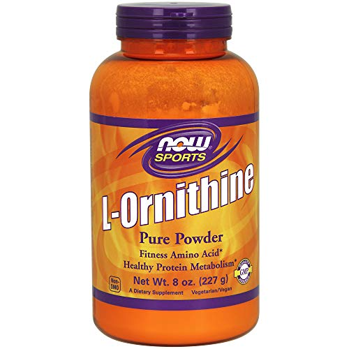 NOW Sports L- Ornithine Powder, 8-Ounce
