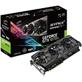 Placa de Video Asus Nvidia Geforce Gtx 1070 Ti 8gb Gddr5 Com Aura Sync Rgb - Strix-gtx1070ti-a8g
