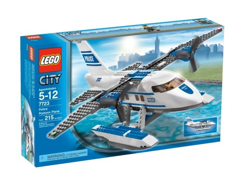 (LEGO City Police Pontoon Plane)