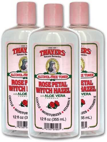 Thayers Alcohol-free Rose Petal Witch Hazel Toner (3 Pack)