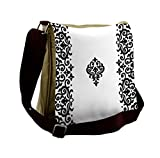 Lunarable Oriental Messenger Bag, Wedding Theme Middle East, Unisex Cross-body