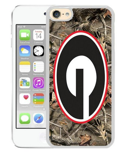 Southeastern Conference Sec Football Georgia Bulldogs 1 White iPod Touch 6 Phone Case,Newest Skin