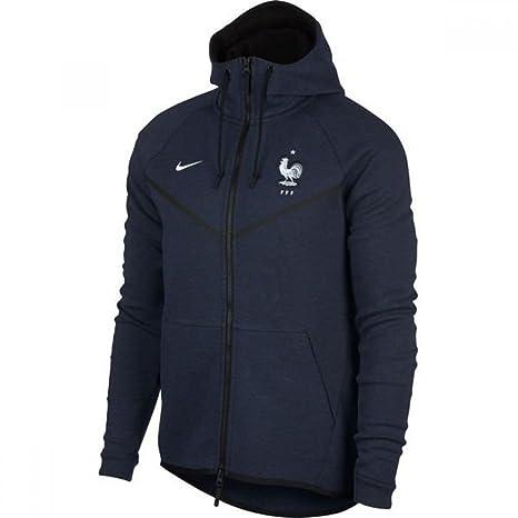 Nike 2018 2019 France Authentic Tech Fleece Windrunner