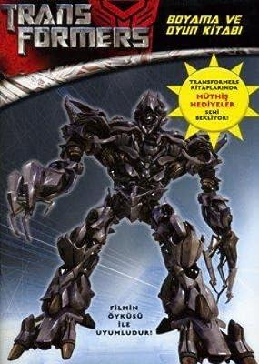 Transformers Boyama Ve Oyun Kitabi Kolektif Amazon Com Tr