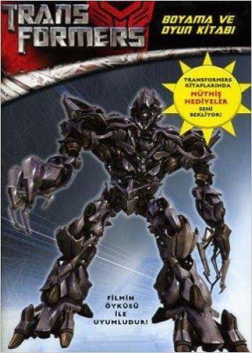 Transformers Boyama Ve Oyun Kitabi Kolektif Amazoncomtr
