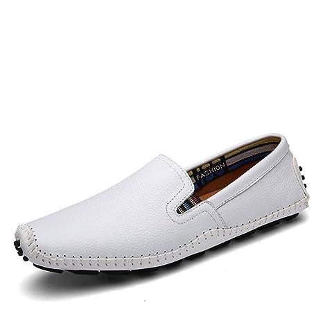 JIUYUE Hombre Mocasines, Mocasines de Hombre Zapatos Casual ...