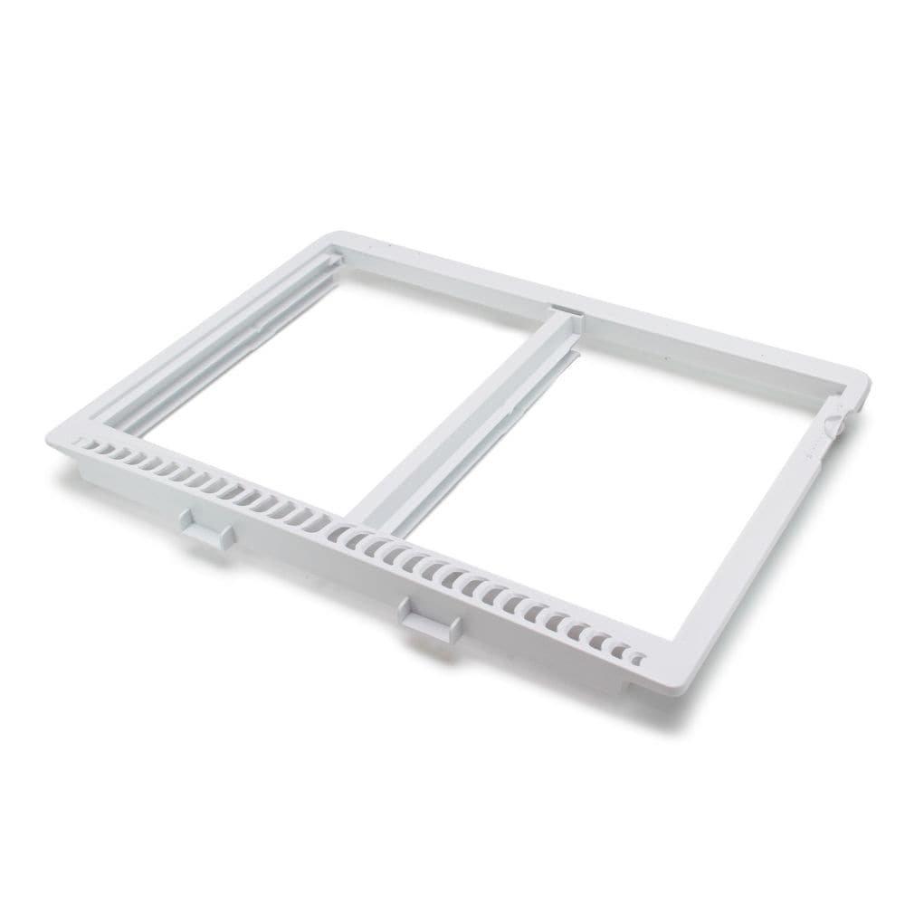 Frigidaire 240364786 Refrigerator Crisper Shelf Frame Genuine Original Equipment Manufacturer (OEM) Part